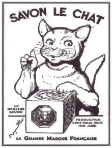 Le savon Le Chat