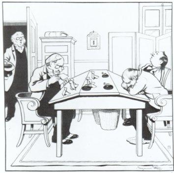 Dessin pour le pêle-mêle 1906