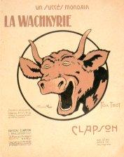 Insigne des services de ravitaillement en viande fraîche dessiné vers 1915.