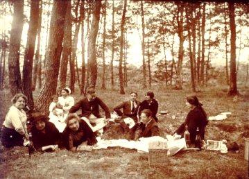 Un pique-nique en 1913